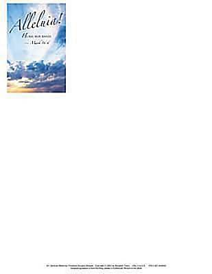Alleluia! Easter Sunrise Letterhead 2012 (Package of 50)