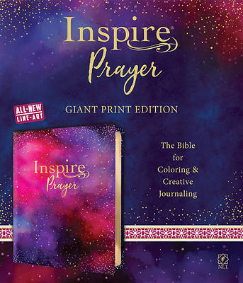 Picture of Inspire Prayer Bible Giant Print NLT (Leatherlike, Purple)