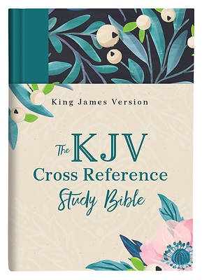 Picture of The KJV Cross Reference Study Bible--Turquoise Floral