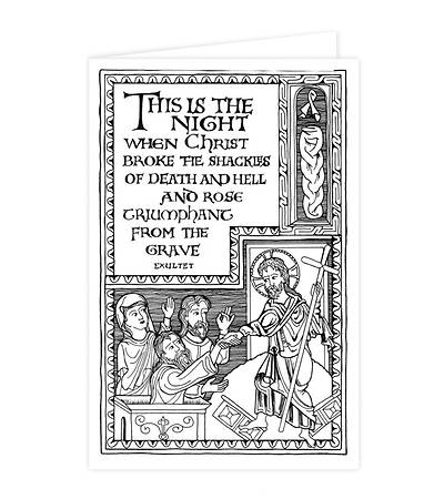 6230A Easter Vigil Bulletin [Pack of 50]