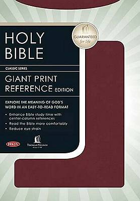 Bible NKJV Reference Center Column Giant Print