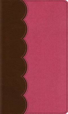 ESV Kids Thinline Bible (Trutone, Chocolate/Bubble Gum)