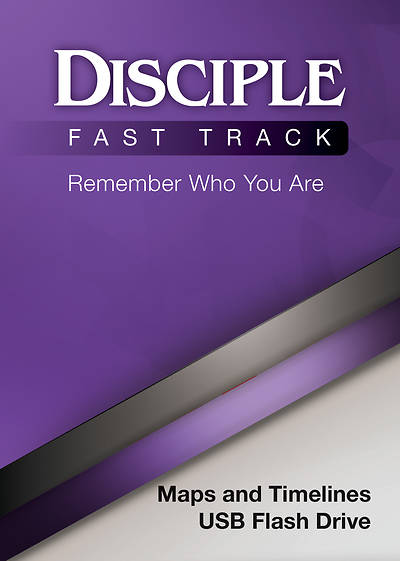 Picture of Disciple Fast Track Remember Who You Are Maps and Timelines USB Flash Drive