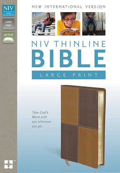 New International Version Thinline Bible, Large Print