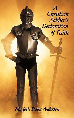 Picture of A Christian Soldier's Declaration of Faith