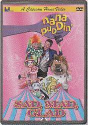 Picture of Nana Puddin' Sad, Mad, Glad Christian Version on DVD