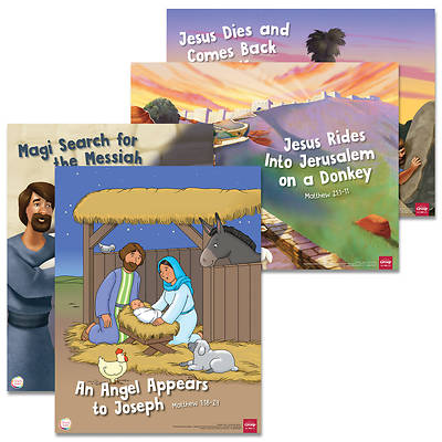 Picture of Simply Loved Holiday Bible Story Poster Pack