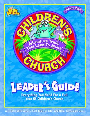 Noahs Park Childrens Church Leaders Guide with CD (Audio)