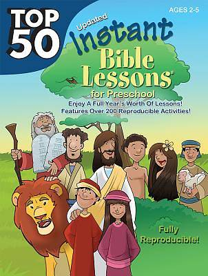 Picture of Top 50 Instant Bible Lessons for Preschoolers