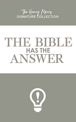 Picture of The Bible Has the Answer