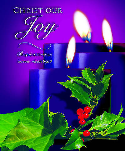 Advent Purple Sunday 3 Bulletin 2012, Large Size (Package of 50)