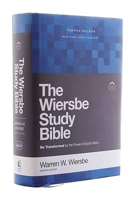 Picture of Nkjv, Wiersbe Study Bible, Hardcover, Comfort Print