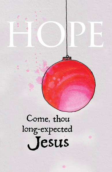 Picture of Hope Ornament Advent Bulletin (Pkg of 50)