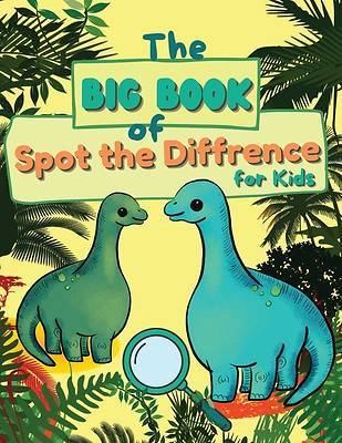 Picture of The Big Book of Spot the Diffrence for Kids