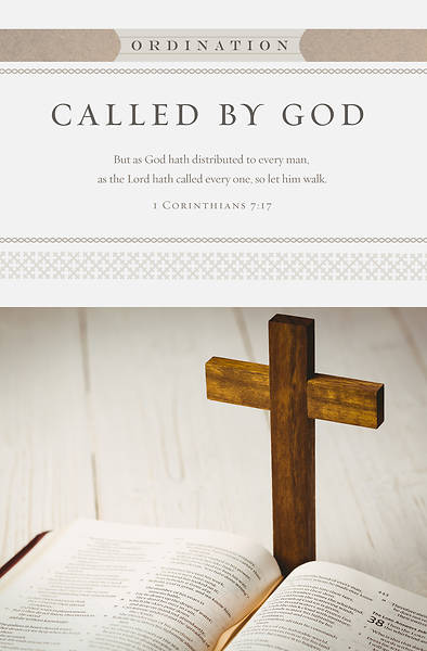 Ordination As The Lord Hath Called Ordination Bulletin