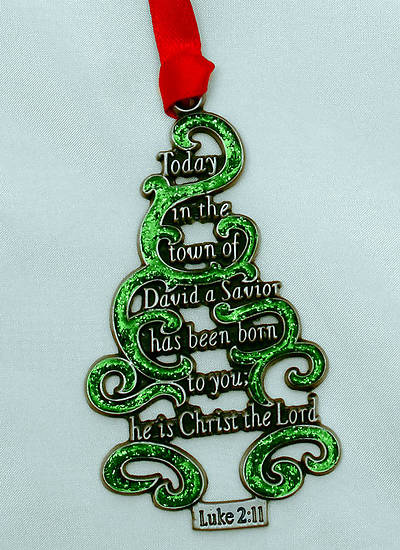 Scripture Tree Ornament