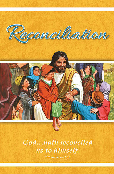 Picture of Jesus and Children General Regular Size Bulletin