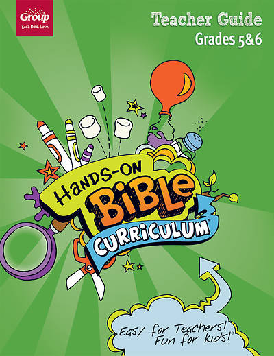 Picture of Hands-On Bible Grades 5 & 6 Teacher Guide Spring 2019