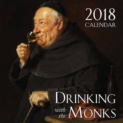 Picture of 2018 Drinking Monks Catholic Wall Calendar