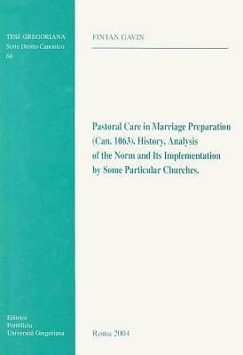 Pastoral Care in Marriage Preparation