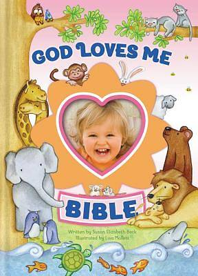 Picture of God Loves Me Bible, Newly Illustrated Edition