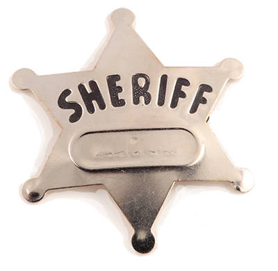 Gospel Light Vacation Bible School 2013 SonWest RoundUp Sheriff Badge (pkg12)