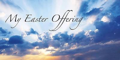 Alleluia! Easter Sunrise Offering Envelope 2012 (Package of 50)