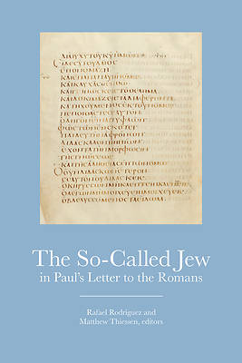 Picture of The So-Called Jew in Paul's Letter to the Romans