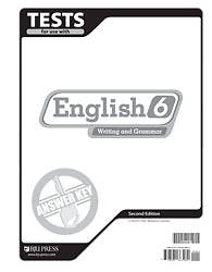 English Tests Answer Key Grd 6 2nd Edition