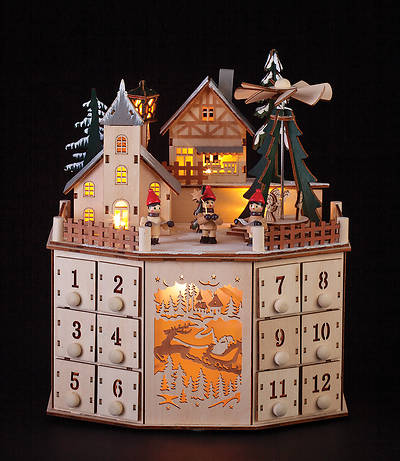 Picture of Windmill Village Countdown Advent Calendar