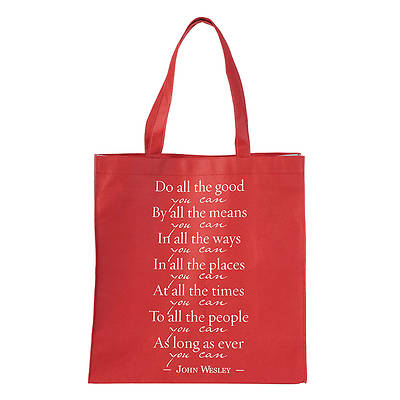 Picture of Wesley Tote Bag - Do All the Good You Can