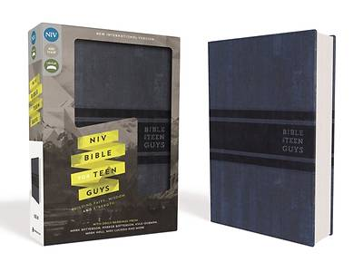 Picture of NIV Bible for Teen Guys, Imitation Leather, Blue