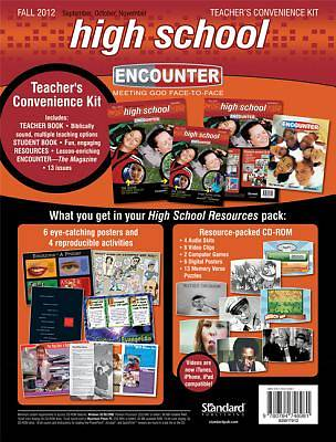 Encounter High School Teacher Convenience Kit Fall 2012