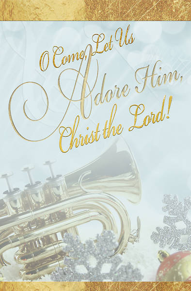 Picture of Adore Music Christmas Bulletin (Pkg of 50)