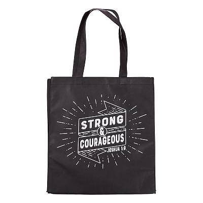 Picture of Non-Woven Tote Strong and Courageous