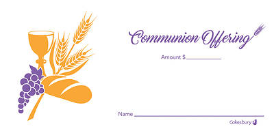 Picture of Communion Offering Envelope (Package of 100)