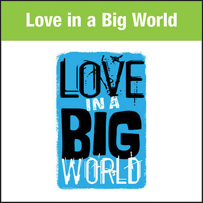 Picture of Love In A Big World Music: Theme Song  MP3 Download