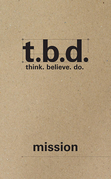 Picture of T.B.D. Mission Student Journal