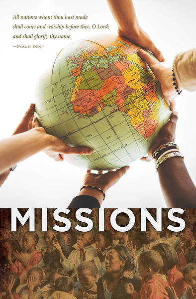 Missions Regular Size Bulletin