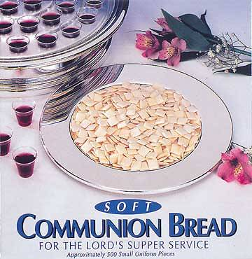 Soft Communion Bread (Box of 500)