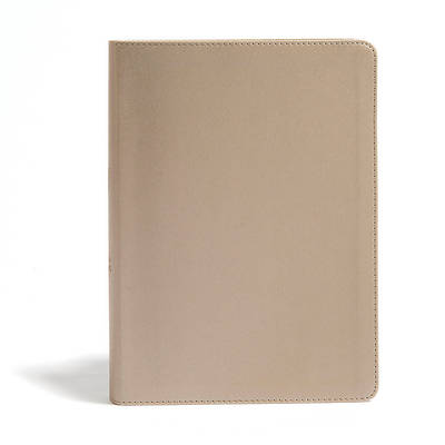 Picture of CSB She Reads Truth Bible, Champagne Leathertouch, Indexed