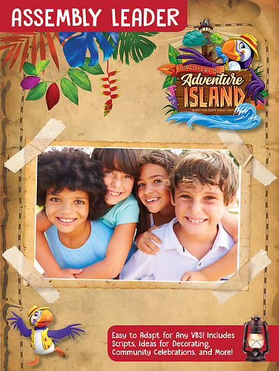 Picture of Vacation Bible School (VBS) 2021 Discovery on Adventure Island Assembly Leader