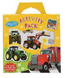 Tractors and Trucks Sticker Activity Pack