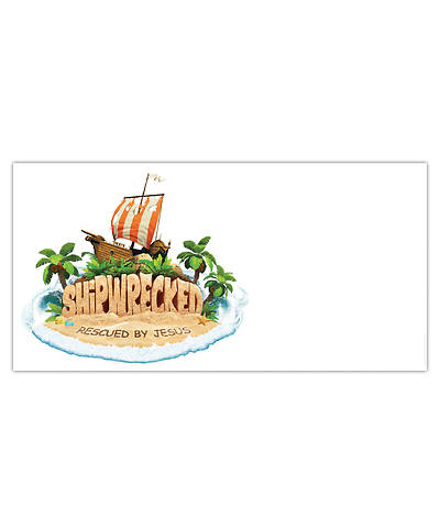 Vacation Bible School (VBS) 2018 Shipwrecked LOGO Banner