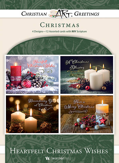 Picture of Heartfelt Christmas Wishes Assorted Boxed Cards