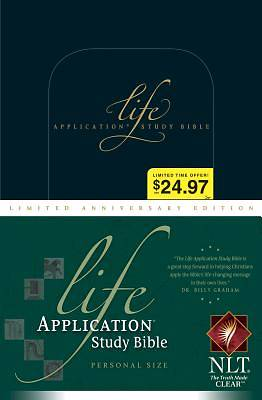 New Living Translation Life Application Study Bible, Personal Size, Limited Anniversary Edition