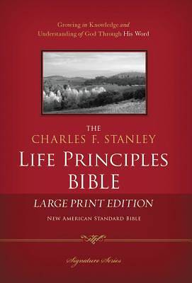 Picture of The Charles F. Stanley Life Principles Bible, NASB