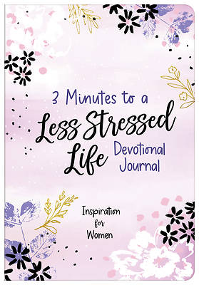 Picture of 3 Minutes to a Less Stressed Life Devotional Journal