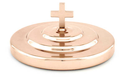 Picture of Communion Bread Plate Cover - Copper