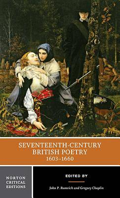 Picture of Seventeenth-Century British Poetry, 1603-1660